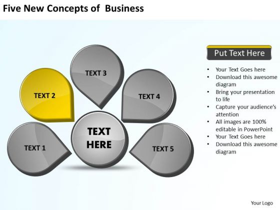 Of Business Powerpoint Templates Free Download Cycle Spoke Diagram