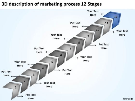 Of Marketing Process 12 Stages Ppt Software Company Business Plan PowerPoint Templates