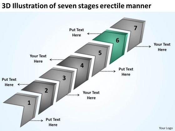 Of Seven Stages Erectile Manner Business Plan Writing Software PowerPoint Templates
