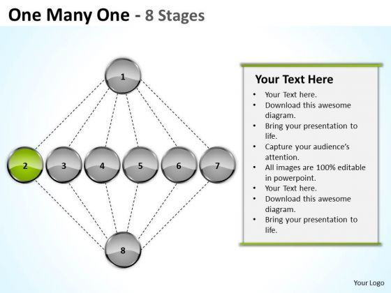 One Many Stages Sales Marketing Theme Ppt Business Continuity Plan Sample PowerPoint Slides