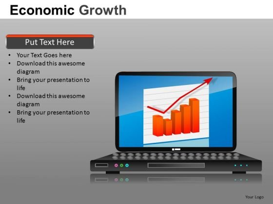 Online Revenue Growth PowerPoint Templates