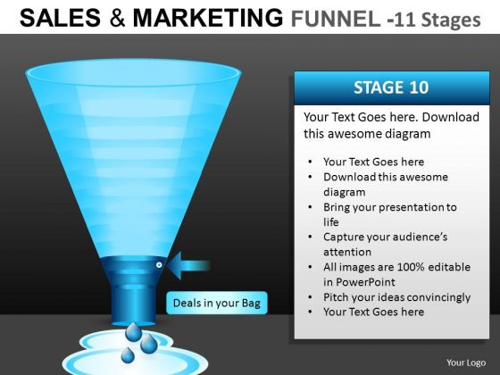 Online Sales Funnel PowerPoint Templates