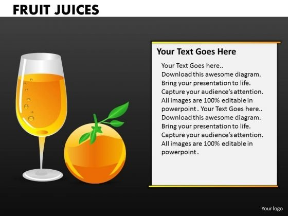 Orange Juice PowerPoint Templates And Oranges Ppt Presentations