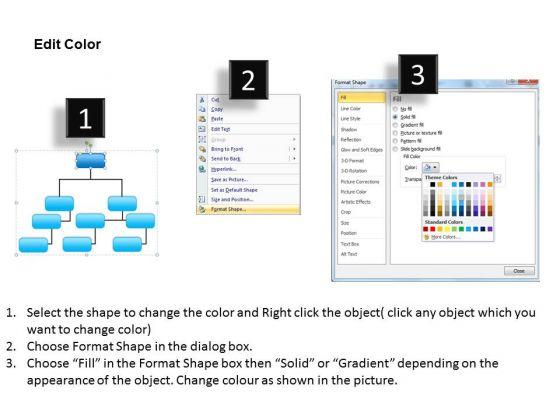 Org Chart Template PowerPoint Business Hierarchy For Decision – Decision Chart Template