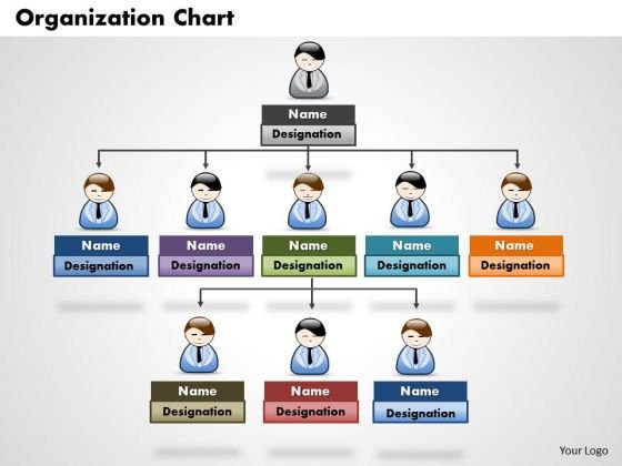 Organization Chart Business PowerPoint Presentation