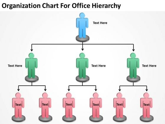 Office powerpoint templates slides and graphics organization chart for office hierarchy ppt sample business plans powerpoint templates wajeb Image collections