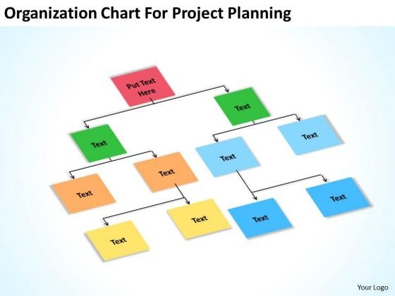 Organization Chart For Project Planning Ppt Help Me Write Business PowerPoint Templates