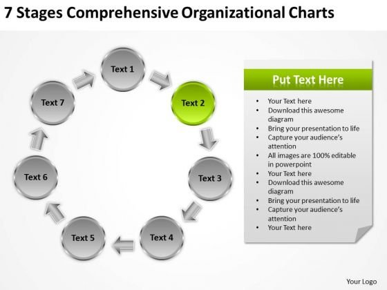 Organizational Charts Ppt 2 How To Write Business Plan For Small PowerPoint Templates