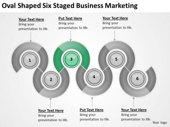 Oval Shaped Six Staged Business Marketing Ppt Creating Plan PowerPoint Templates