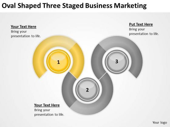 Oval Shaped Three Staged Business Marketing Ppt Need Plan PowerPoint Templates