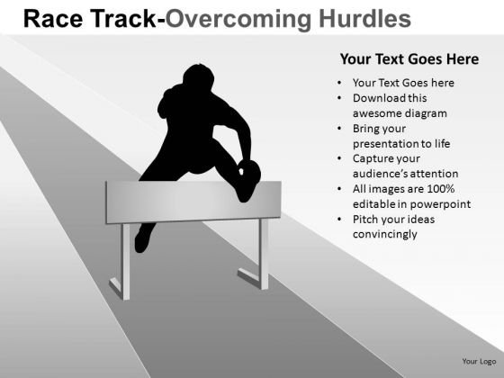 Overcoming Hurdles PowerPoint Slides And Ppt Template Diagrams