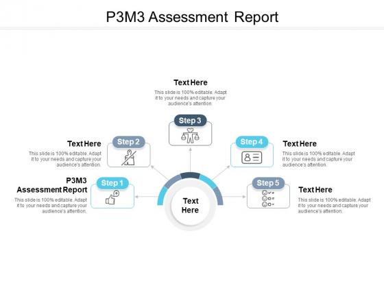 P3M3 Assessment Report Ppt PowerPoint Presentation Gallery Design Ideas Cpb Pdf