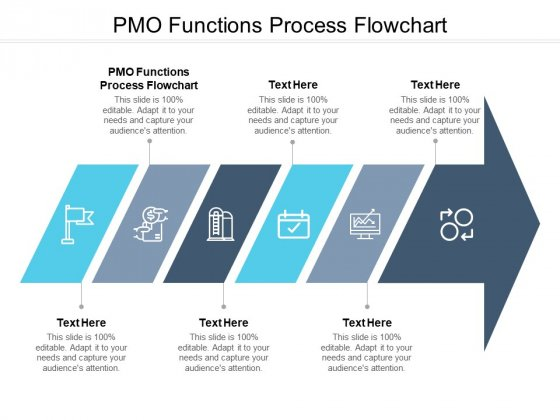 PMO Functions Process Flowchart Ppt PowerPoint Presentation Layouts Slide Portrait Cpb Pdf