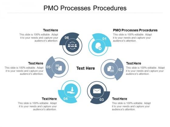 PMO Processes Procedures Ppt PowerPoint Presentation Professional Elements Cpb Pdf