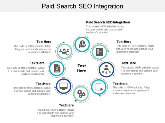 Paid Search SEO Integration Ppt PowerPoint Presentation Model Maker Cpb