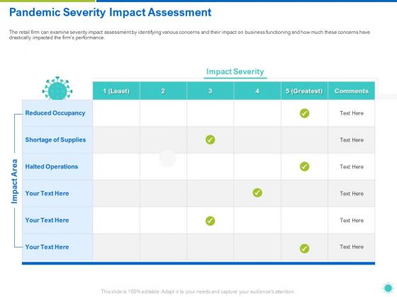 Pandemic_Severity_Impact_Assessment_Ppt_Ideas_Display_PDF_Slide_1