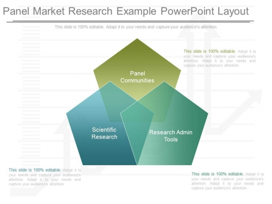 Panel Market Research Example Powerpoint Layout