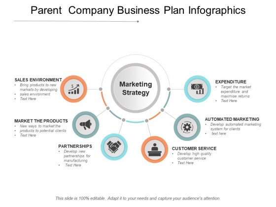 Parent Company Business Plan Infographics Ppt PowerPoint Presentation Model Slides