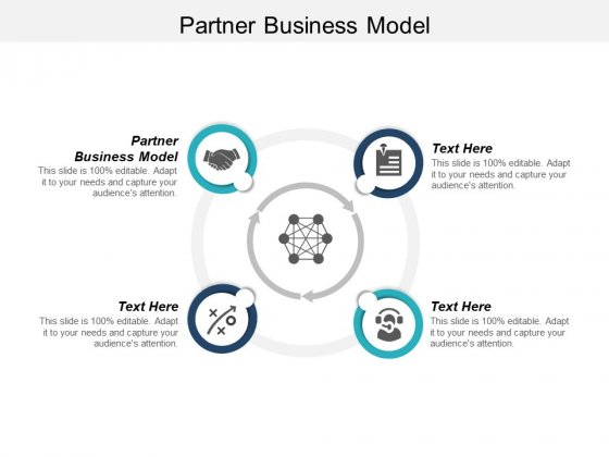 Partner Business Model Ppt PowerPoint Presentation Infographic Template Show