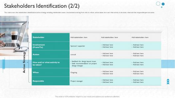 Partner Engagement Planning Procedure Stakeholders Identification Strategy Designs PDF