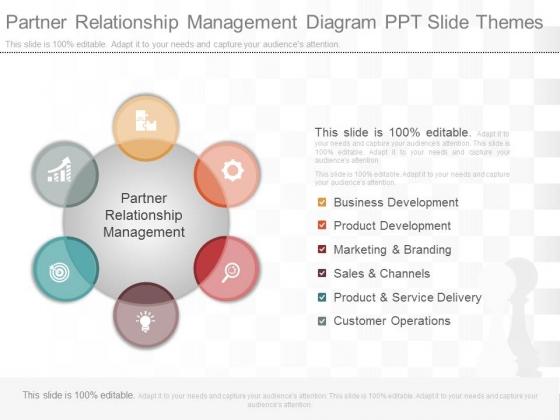 Partner Relationship Management Diagram Ppt Slide Themes