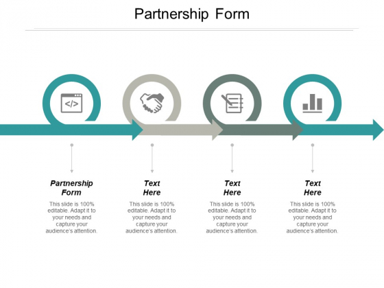 Partnership Form Ppt PowerPoint Presentation Icon Backgrounds Cpb