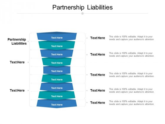 Partnership Liabilities Ppt PowerPoint Presentation Infographic Template Shapes Cpb