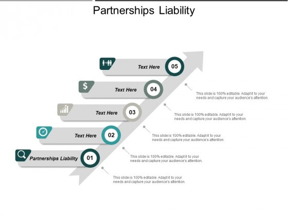 Partnerships Liability Ppt PowerPoint Presentation Gallery Example Topics Cpb