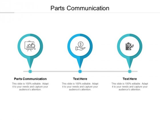 Parts Communication Ppt PowerPoint Presentation Professional Maker Cpb