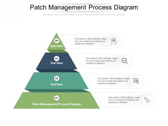 Patch Management Process Diagram Ppt PowerPoint Presentation Model Master Slide Cpb