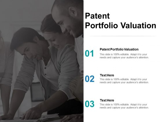 Patent Portfolio Valuation Ppt PowerPoint Presentation Guide Cpb Pdf
