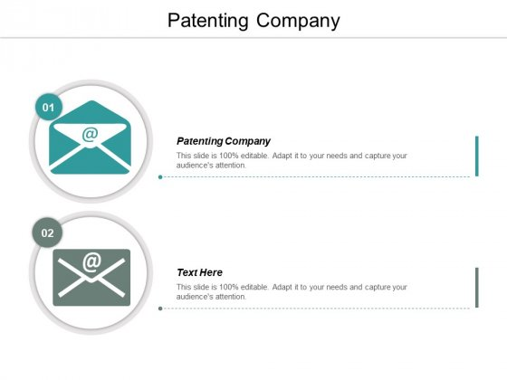 Patenting Company Ppt PowerPoint Presentation Backgrounds Cpb