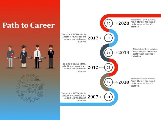 Path To Career Ppt PowerPoint Presentation Outline Graphics Example