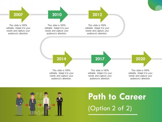 Path To Career Ppt Point Presentation Outline Layout Slide 1 2