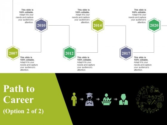 Path To Career Ppt PowerPoint Presentation Slides