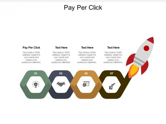 Pay Per Click Ppt PowerPoint Presentation Infographic Template Visual Aids Cpb