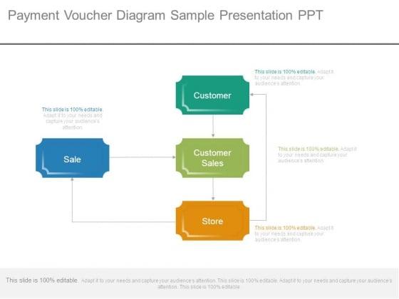 Payment Voucher Diagram Sample Presentation Ppt