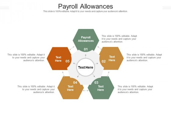 Payroll Allowances Ppt PowerPoint Presentation Gallery Master Slide Cpb Pdf