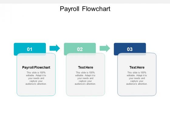 Payroll Flowchart Ppt PowerPoint Presentation Slides Grid Cpb