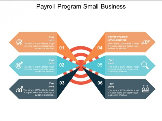 Payroll Program Small Business Ppt Powerpoint Presentation Layouts Diagrams Cpb