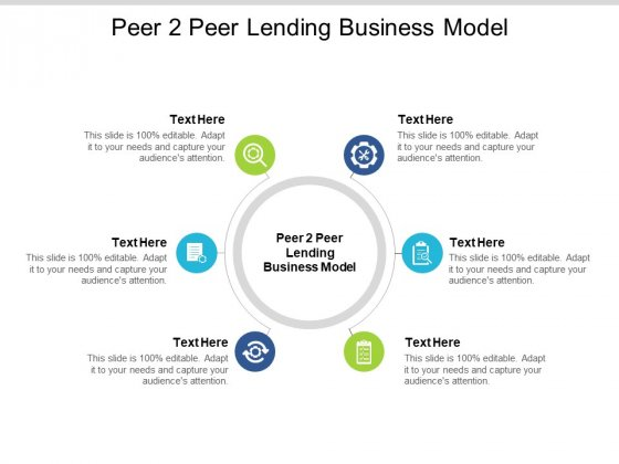 Peer 2 Peer Lending Business Model Ppt PowerPoint Presentation Infographics Portfolio Cpb Pdf