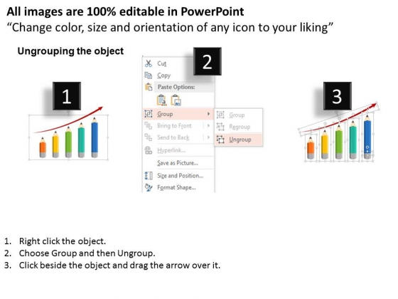 Pencil_Graph_Showing_Yearly_Profit_Growth_Powerpoint_Templates_2