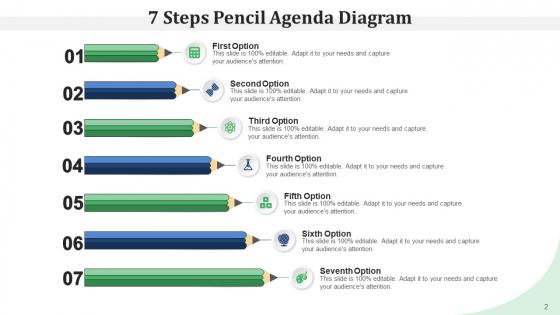 Pencil_Program_Infographic_Agenda_Ppt_PowerPoint_Presentation_Complete_Deck_Slide_2