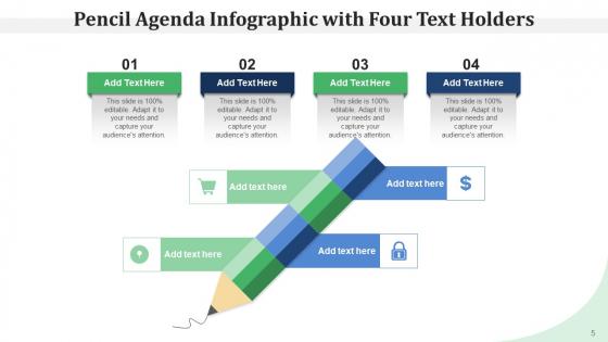 Pencil_Program_Infographic_Agenda_Ppt_PowerPoint_Presentation_Complete_Deck_Slide_5