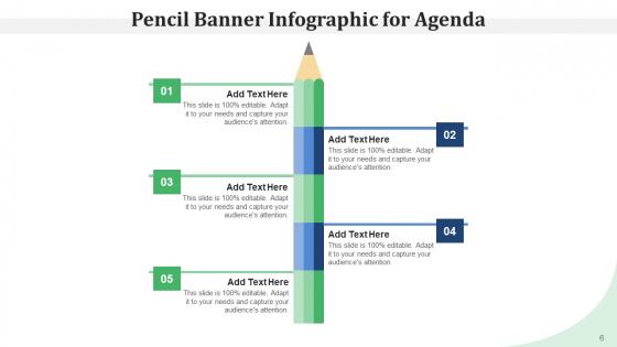 Pencil_Program_Infographic_Agenda_Ppt_PowerPoint_Presentation_Complete_Deck_Slide_6