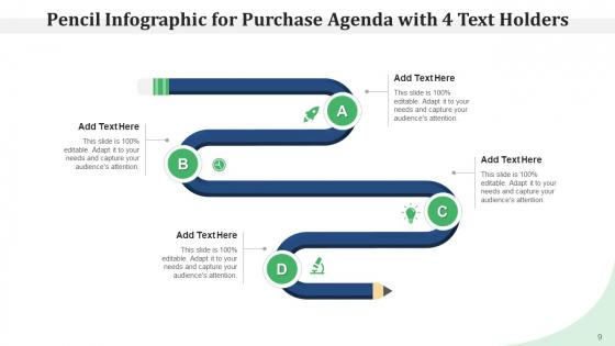 Pencil_Program_Infographic_Agenda_Ppt_PowerPoint_Presentation_Complete_Deck_Slide_9
