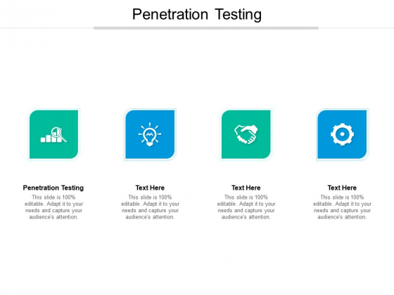 Penetration Testing Ppt PowerPoint Presentation Slides Clipart Images Cpb Pdf