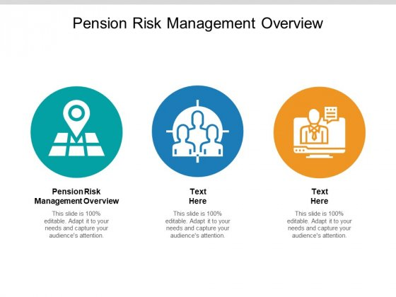 Pension Risk Management Overview Ppt PowerPoint Presentation Ideas Mockup Cpb