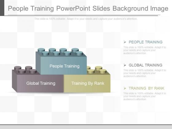 People Training Powerpoint Slides Background Image
