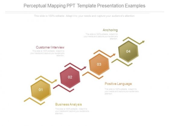 Perceptual Mapping Ppt Template Presentation Examples